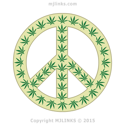 The Hippie Trail and the Symbol of Peace with Marijuana