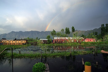 Houseboats in Srinigar, Kashmir